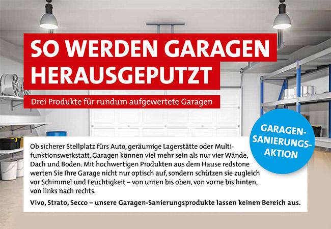 redstone Garagensanierungsprodukte – Malerei Rainbacher KG – Bad Ischl im Salzkammergut