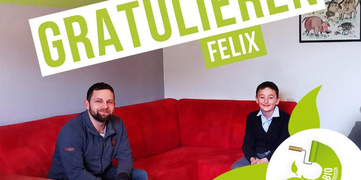 Markus Rainbacher mit Sieger Felix